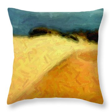 Dunes 1 Throw Pillow