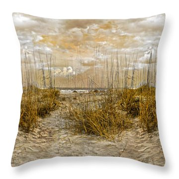 Dunes Throw Pillow by Betsy Knapp