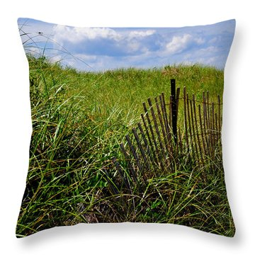 Dunes On Prince Edward Island Throw Pillow
