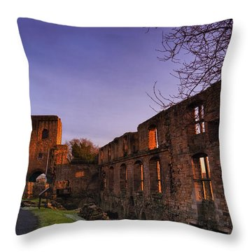 Dunfermline Palace Throw Pillow