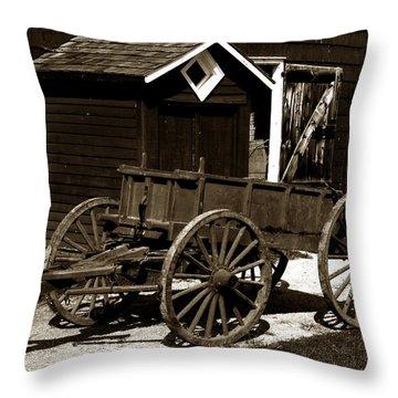 Dung Ho Throw Pillow