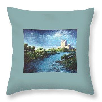 Dungaire Castle Throw Pillow