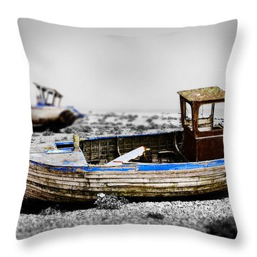 Boat One Throw Pillow