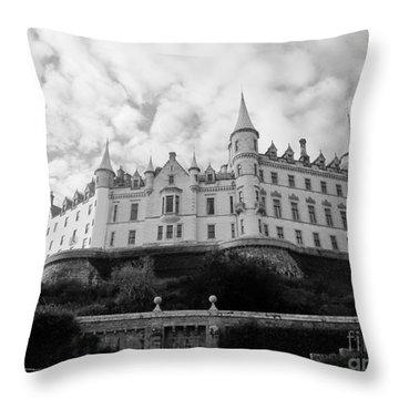Dunrobin Castle Throw Pillow