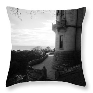 Dunrobin Walkway Throw Pillow