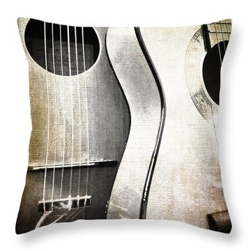Duo Throw Pillow by Randi Grace Nilsberg