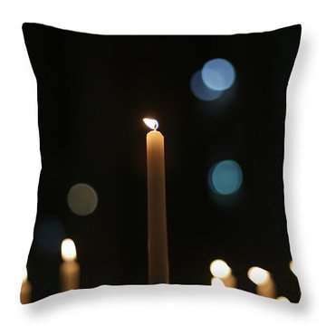 Duomo Prayers Throw Pillow