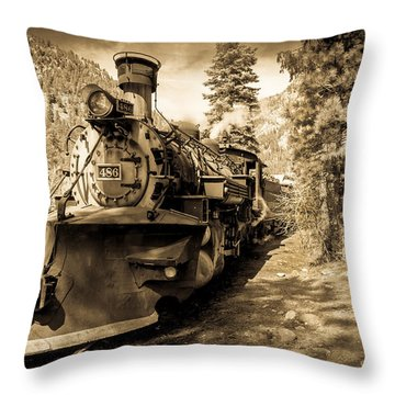 Durango And Silverton #2 Throw Pillow