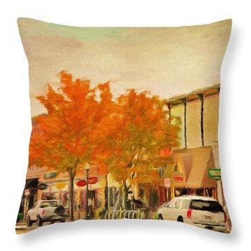 Durango Autumn Throw Pillow by Jeff Kolker