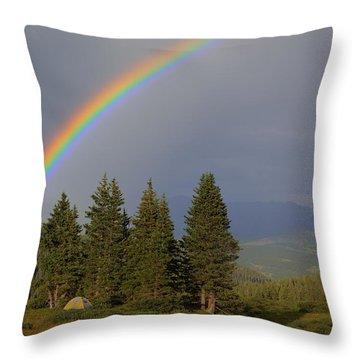 Durango Rainbow Throw Pillow