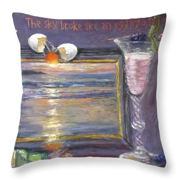 Dusk Flip Throw Pillow