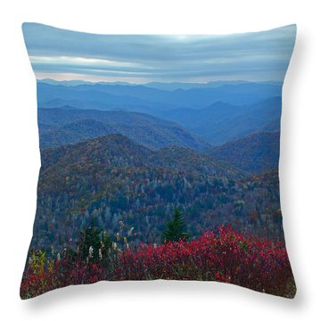 Dusk In Pastels Throw Pillow