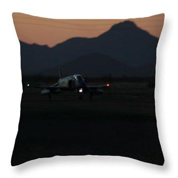 Dusk Return Throw Pillow