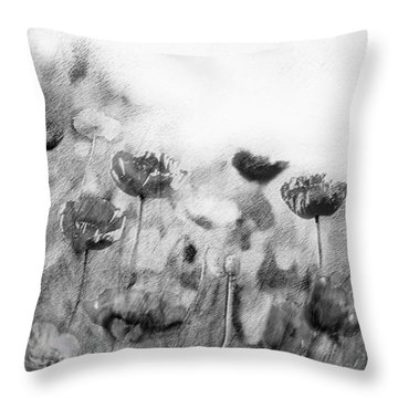 Dusky Whispers Throw Pillow by Linde Townsend