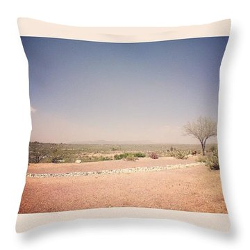 Dust In The Wind 1 Throw Pillow