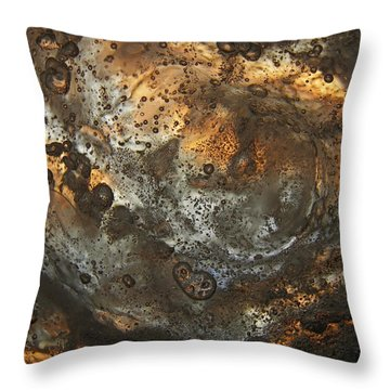 Dusty Spin Throw Pillow