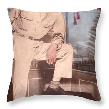 Duty To God And Country Throw Pillow