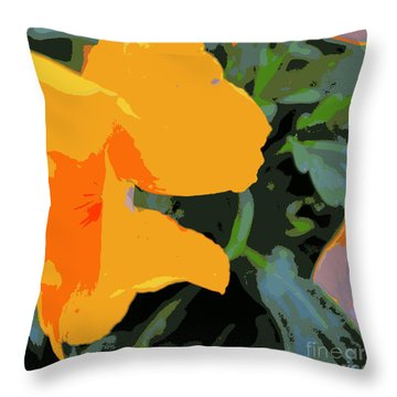 Duvet 87 Throw Pillow