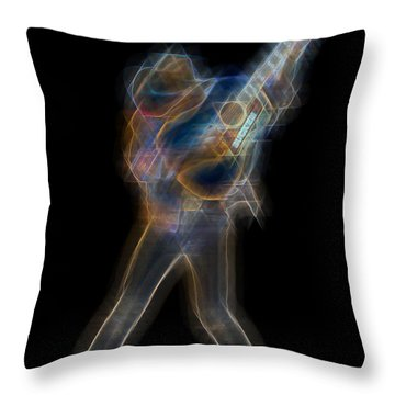 Dwight Noise Throw Pillow by Kenneth Armand Johnson