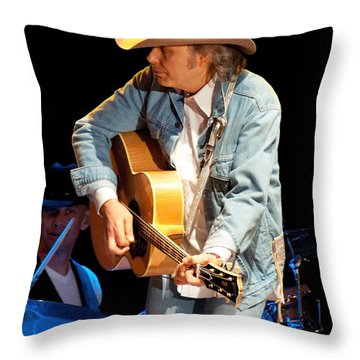 Dwight Yoakam - Streets Of Bakersfield Throw Pillow