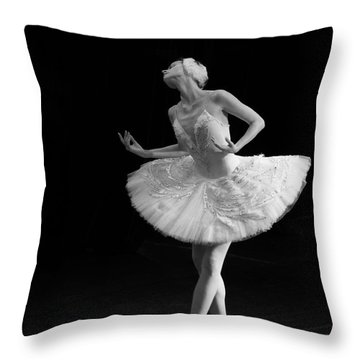 Dying Swan 3. Throw Pillow