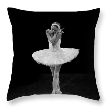 Dying Swan 5. Throw Pillow