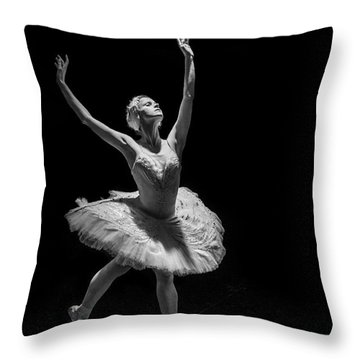 Dying Swan 6. Throw Pillow