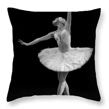 Dying Swan 9. Throw Pillow