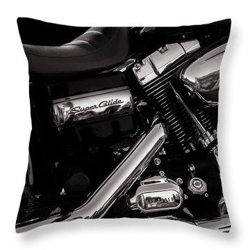 Dyna Super Glide Custom Throw Pillow