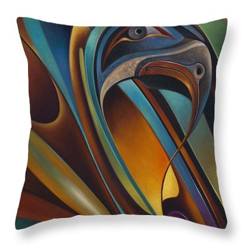 Dynamic Series #17 Throw Pillow