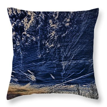 Dynamic Skyscape Throw Pillow