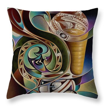 Dynamic Still I Throw Pillow