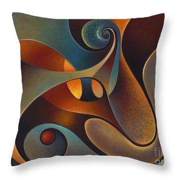 Dynmaic Series #14 Throw Pillow