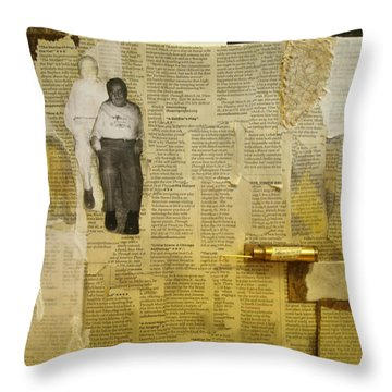 Dziadzia Throw Pillow