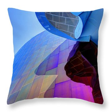 E M P Abstract Throw Pillow