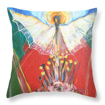 E R A 1974 Throw Pillow by Avonelle Kelsey