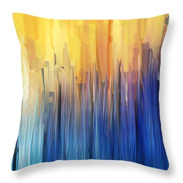 Each Day Anew Throw Pillow