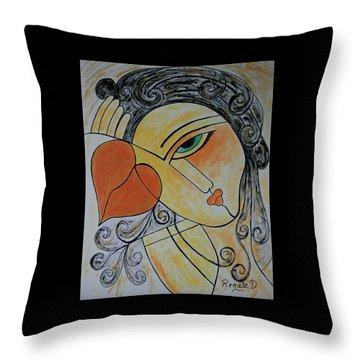 Each Piece Of My Heart.... Throw Pillow
