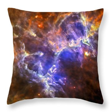 Eagle Nebula Throw Pillow by Adam Romanowicz