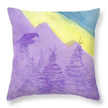 Eagle View Throw Pillow