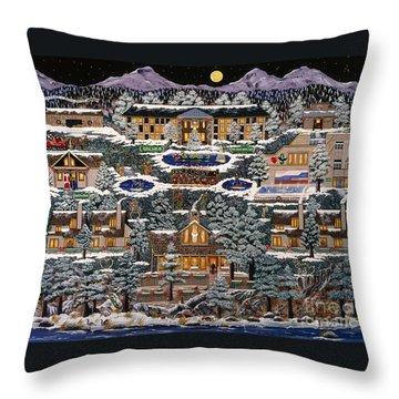 Eaglecrest Resort Throw Pillow