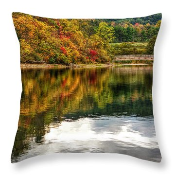 Early Autumn II Throw Pillow