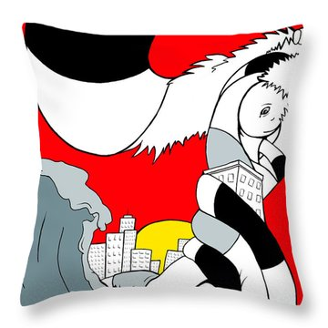 Early Bird Throw Pillow