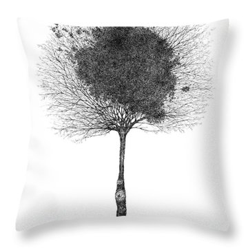 Early December Throw Pillow