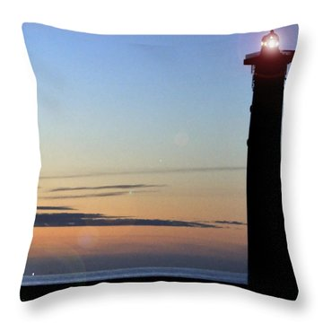 Throw Pillow featuring the photograph Early In The Morning by Julis Simo