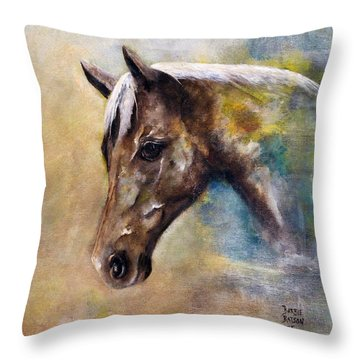 Early Morning Favorite Throw Pillow by Barbie Batson