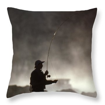 Early Morning Pursuit Throw Pillow