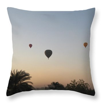 Early Morning Rising Throw Pillow by John Malone