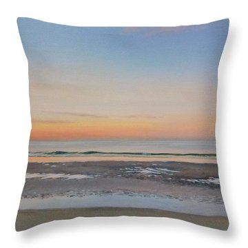 Early Morning Sky Throw Pillow