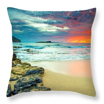 Throw Pillow featuring the photograph Early Morning Sunrise by Robert  Aycock
